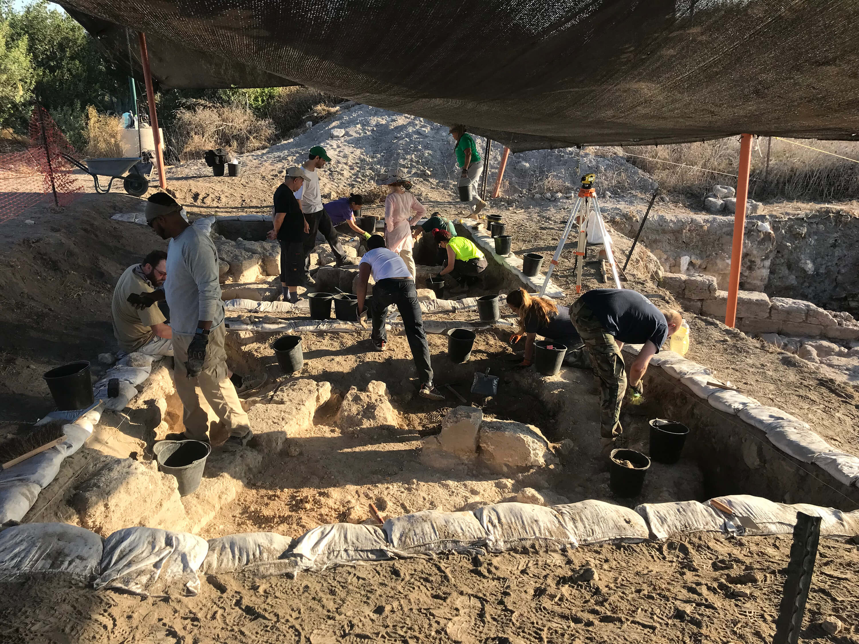 AVAR Archaeology excavation site